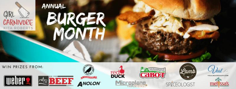 burger month prize sponsors
