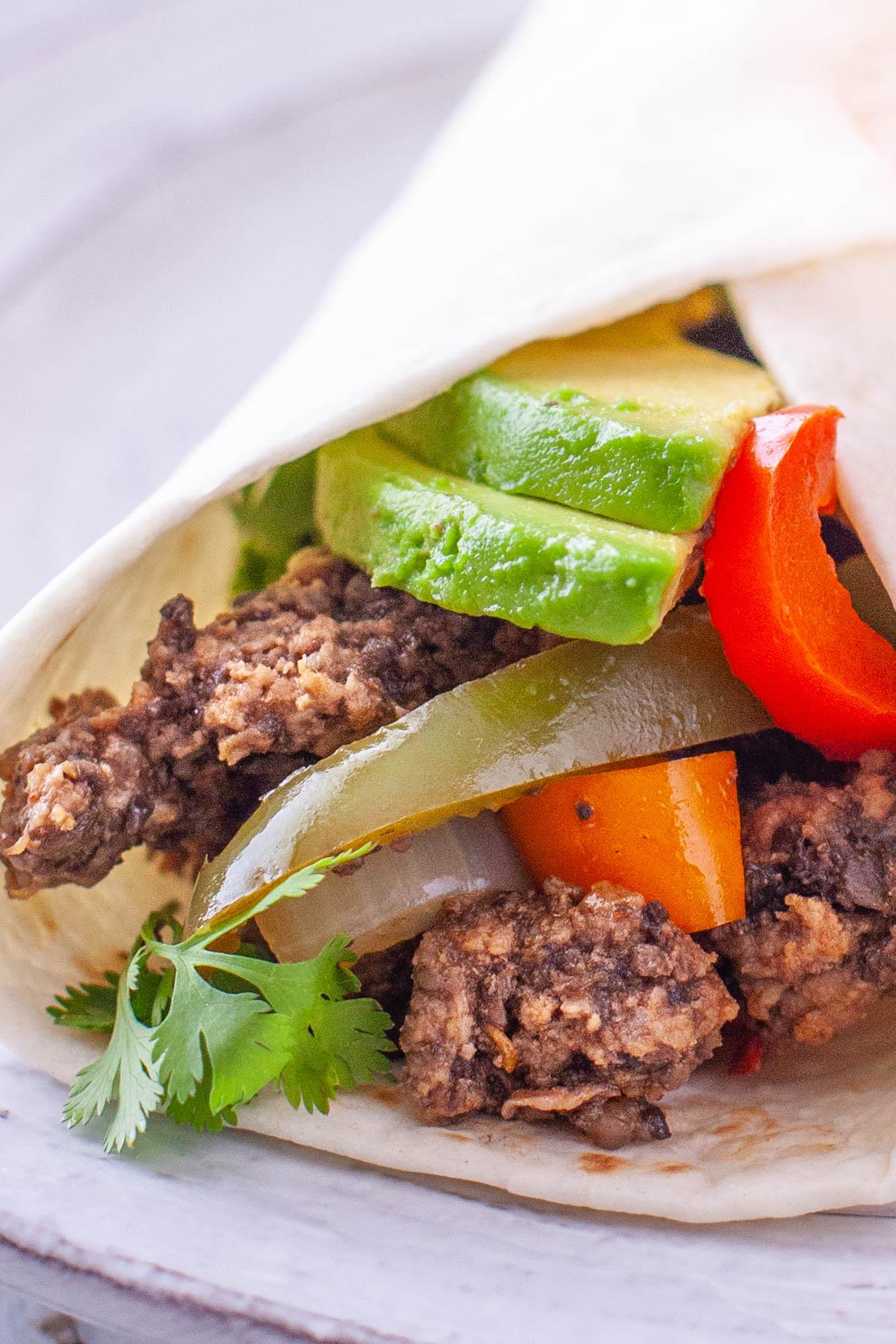 Ground Beef Fajita Recipe