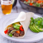 Ground Beef Fajitas Dinner