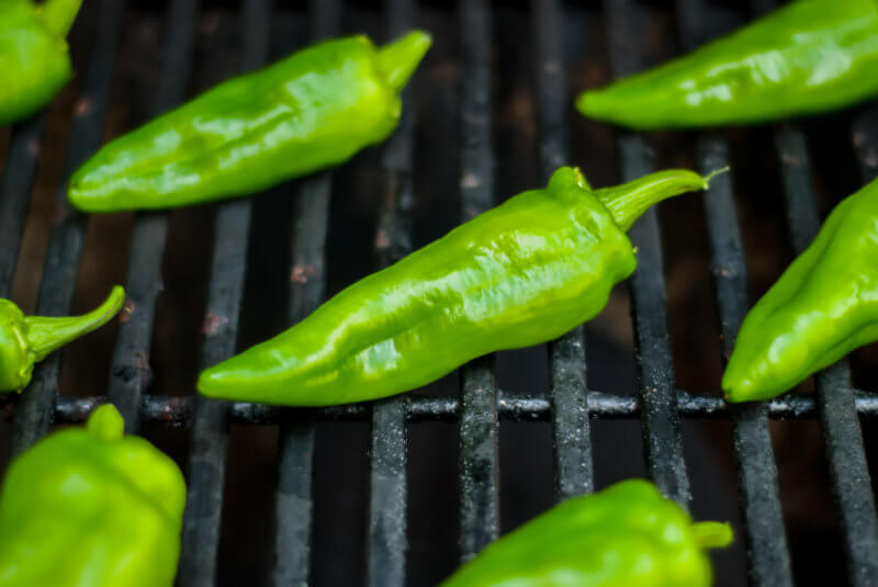 How to Roast Poblano Peppers on the Grill
