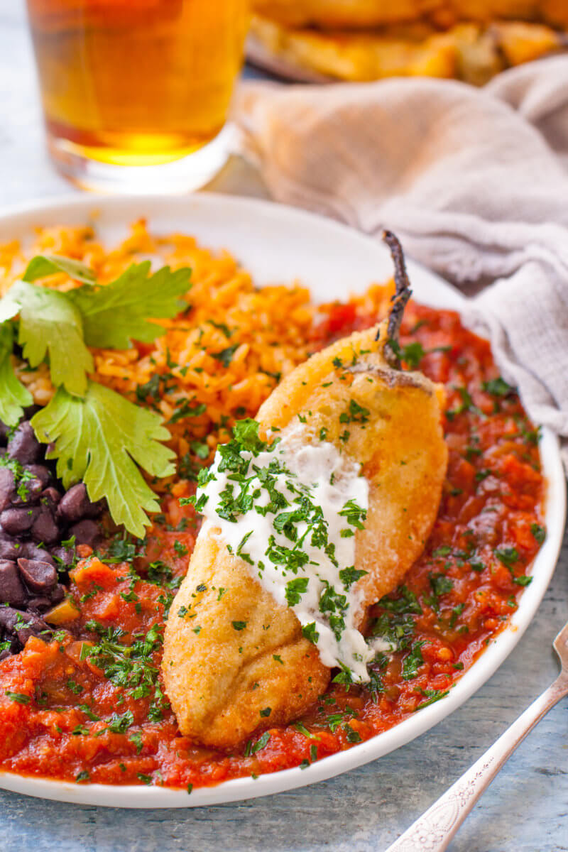 Authentic chile relleno recipe