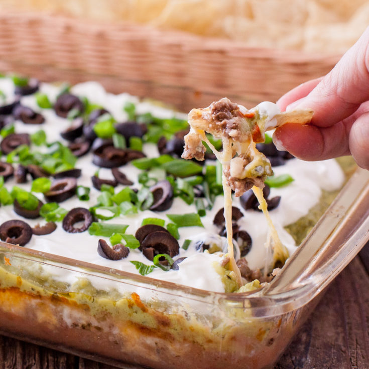 Baked 7 Layer Dip