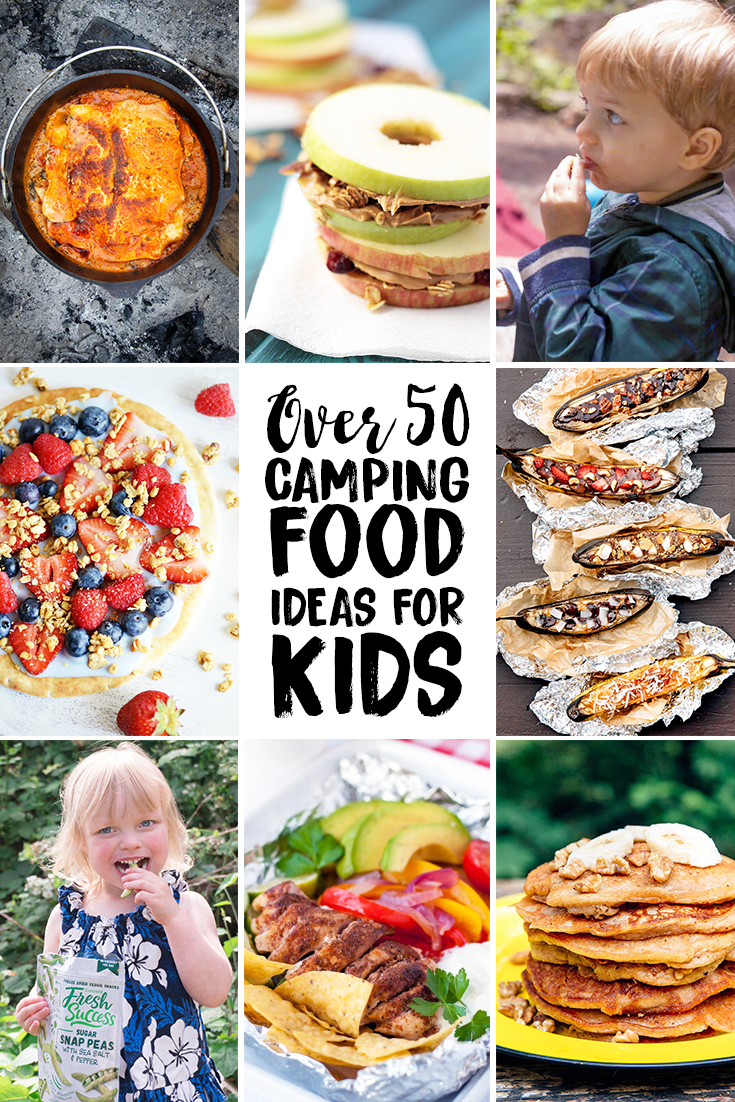 Best Camping Food For Kids And Printable Camping Meal Plan