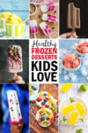 Healthy frozen dessert ideas for kids!