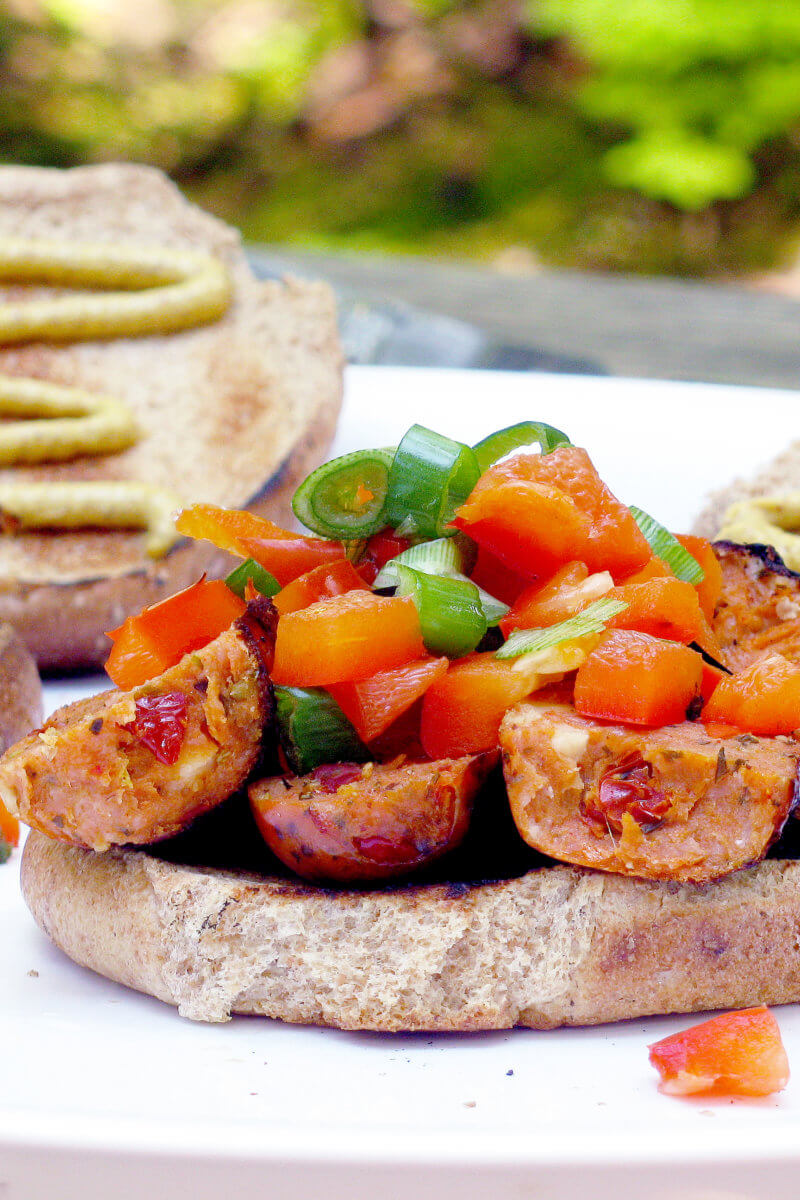 Campfire Sausage Sandwiches and Best Camping Food for Kids