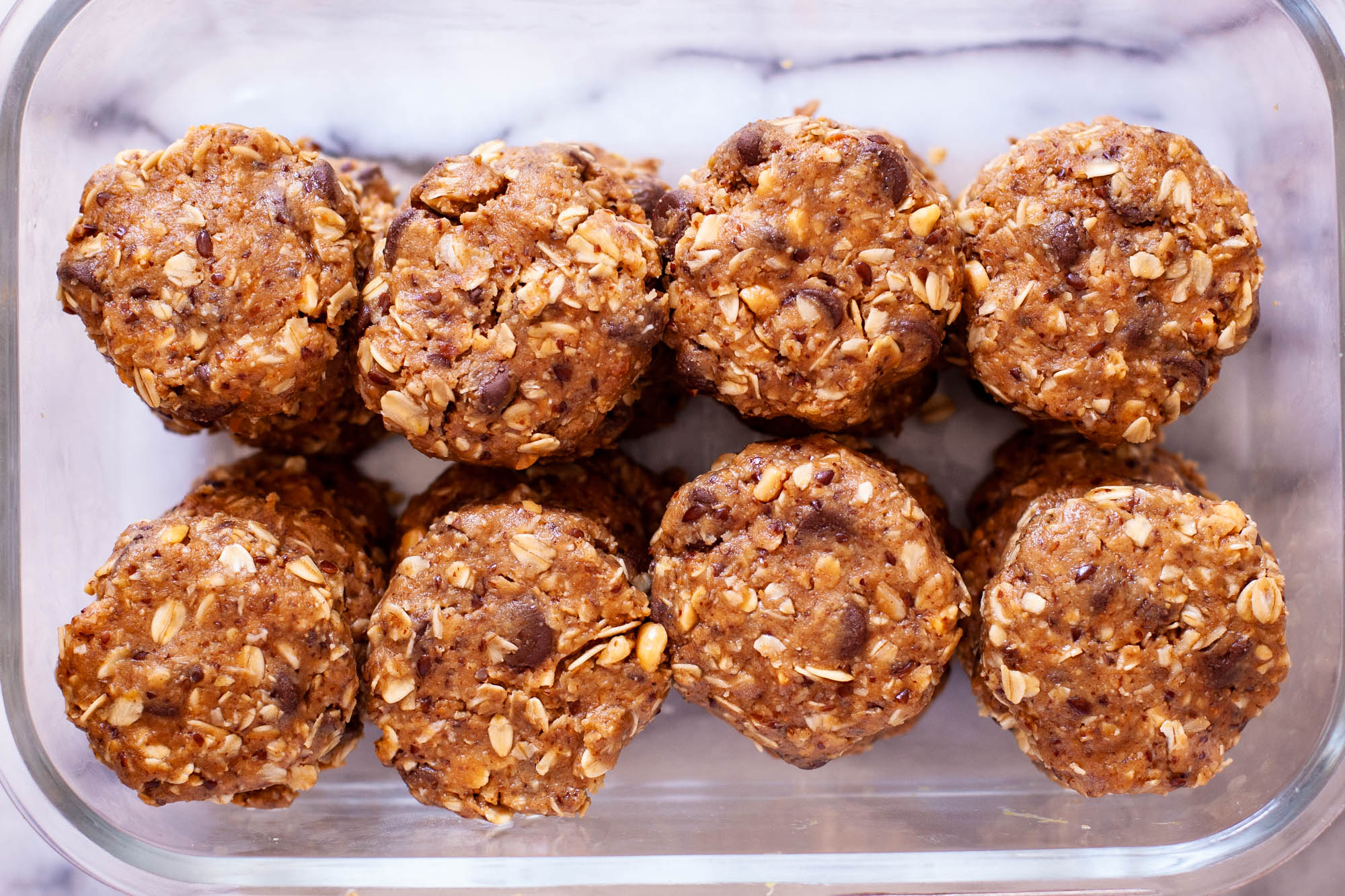 No Bake Lactation Cookies in Box