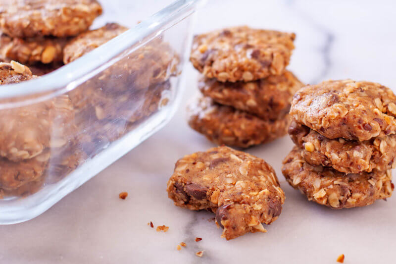 Easy Lactation Cookies No Bake