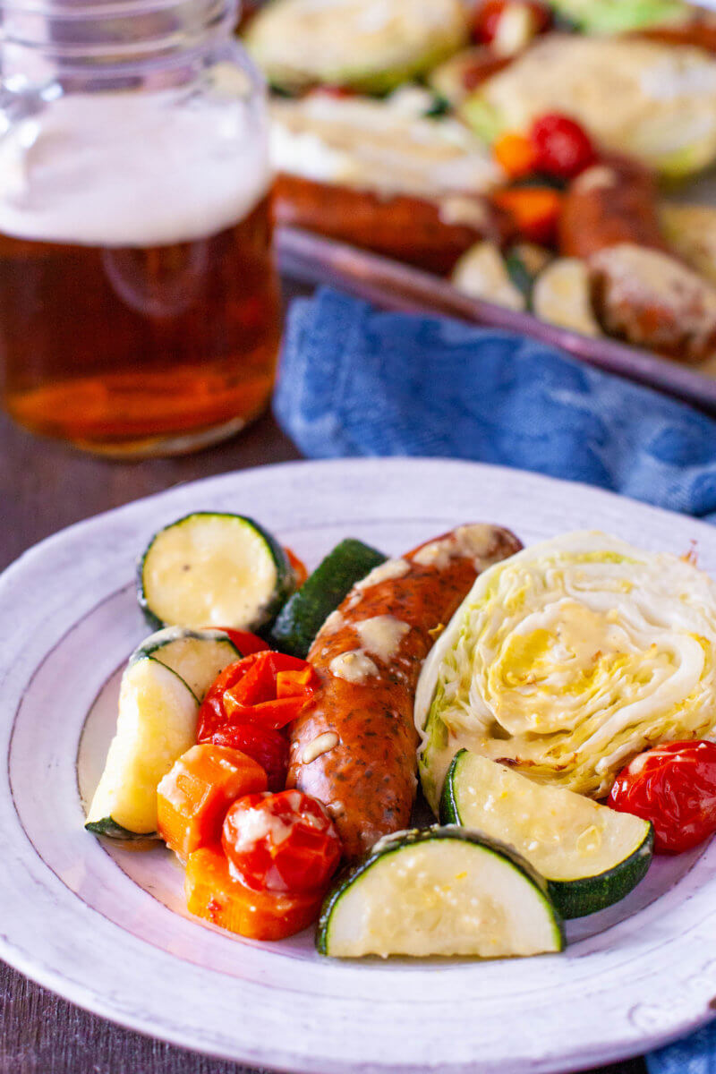 Cabbage and Sausage Dinner Recipe