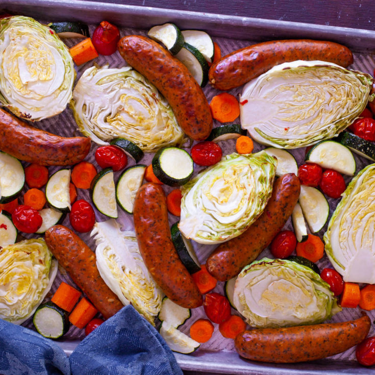 Cabbage and Sausage Easy Dinner