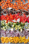 Roasted Vegetables for Vegetable Pasta Bake