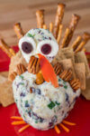 Cute Turkey Cheese Ball Tutorial