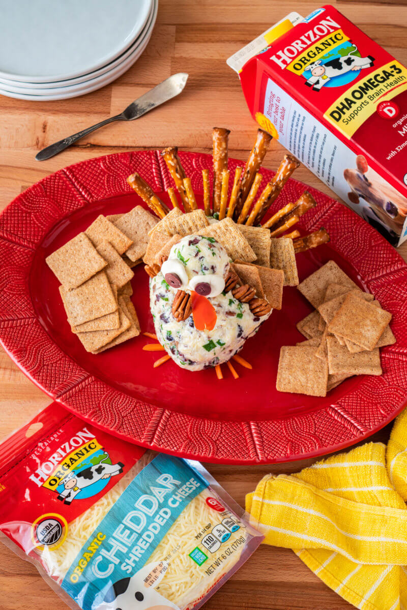 Turkey Cheese Ball Appetizer Horizon Organic
