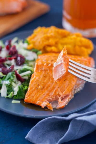 Broiled Honey Glazed Salmon
