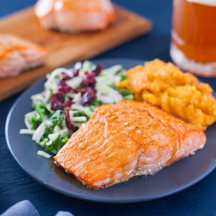 Teriyaki Glazed Salmon Recipe