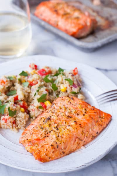 Lemon Pepper Salmon Recipe