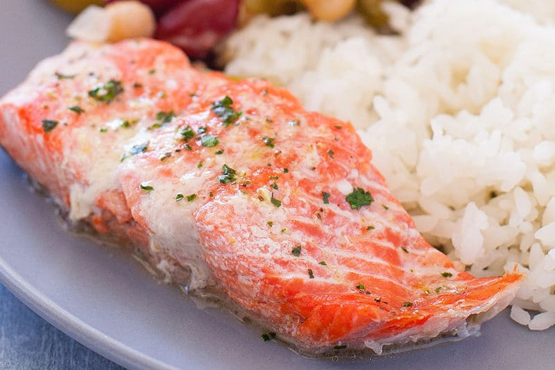 Quick Microwave Salmon