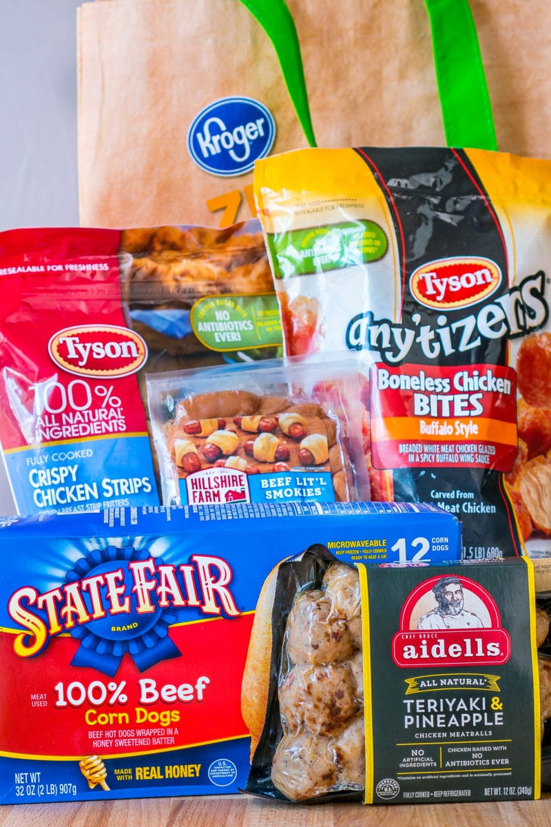 Tyson® brand Game Day Food Buffet