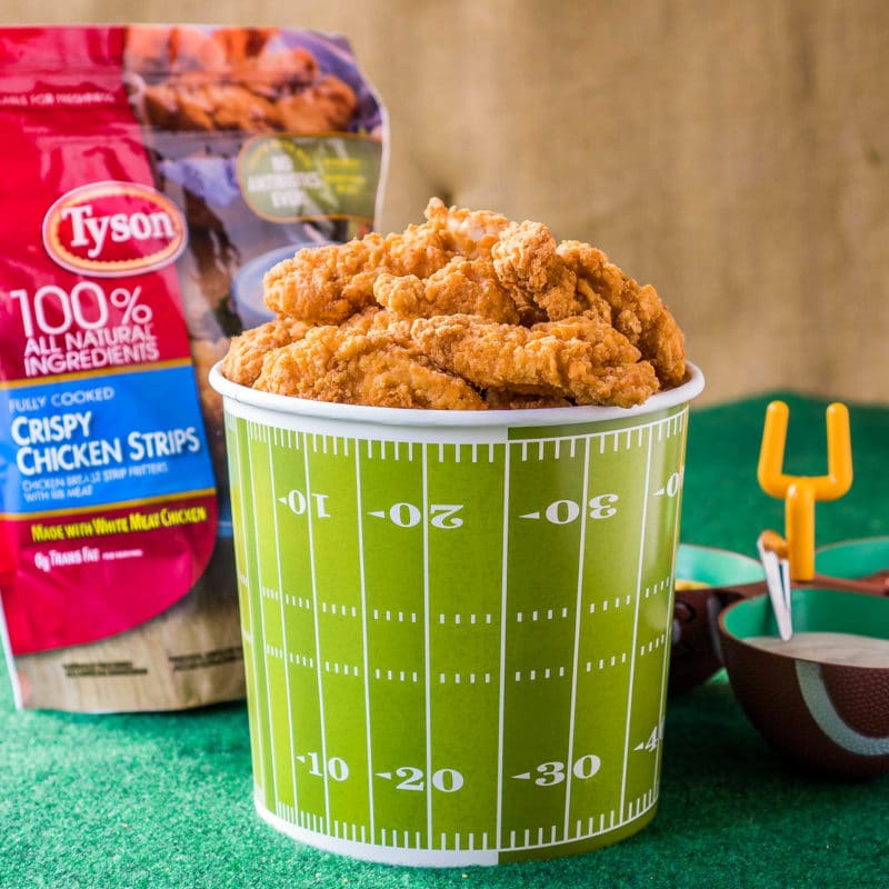 Tyson Crispy Chicken Strips Game Day Food Ideas