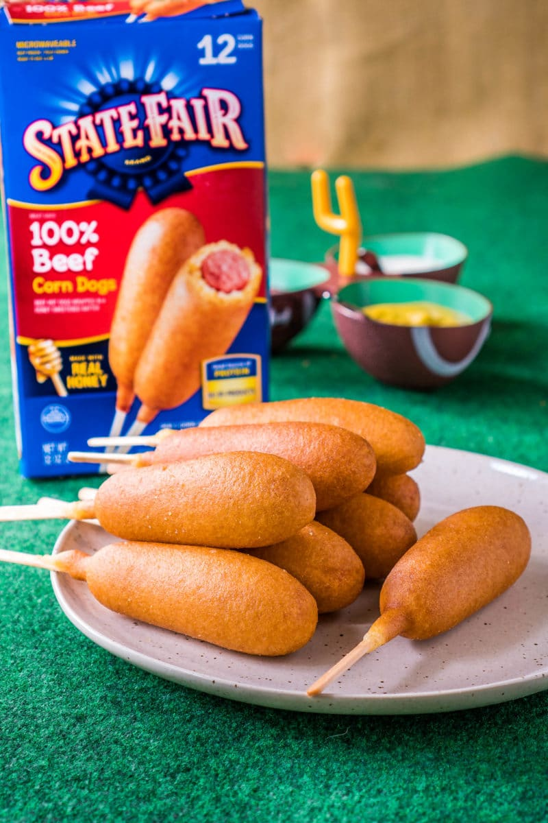 State Fair Corn Dogs Game Day Food Ideas
