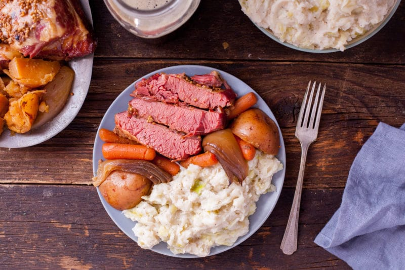 Traditional Irish Dinner St. Patrick's Day