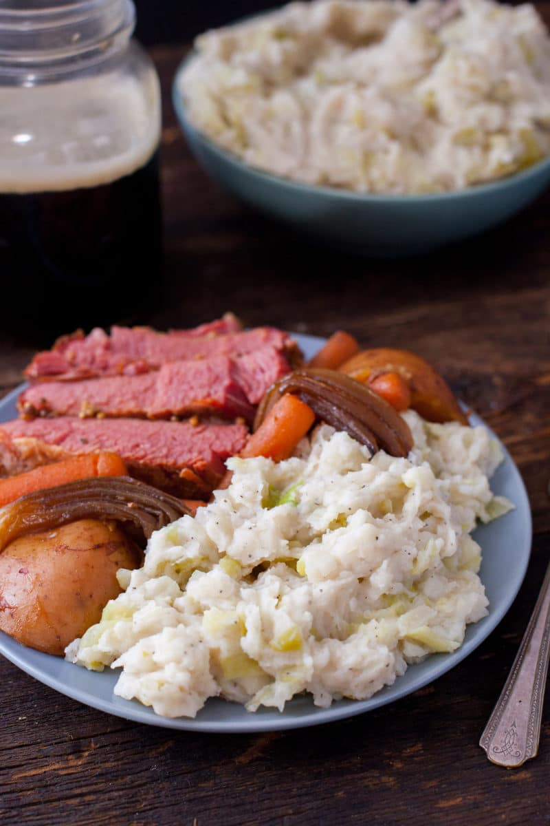 Colcannon Mashed Potatoes