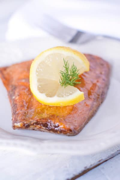 Soy Sauce Baked Salmon Recipe