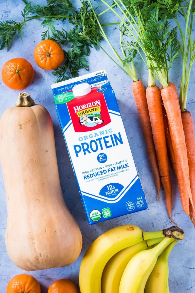 Horizon Organic High Protein Milk for Orange Cream Smoothies