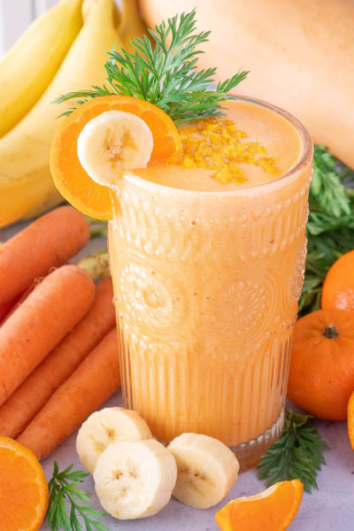 Orange Cream Smoothie – Protein Packed Plus Hidden Veggies
