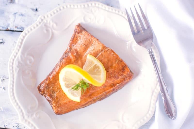 Soy Baked Salmon Recipe