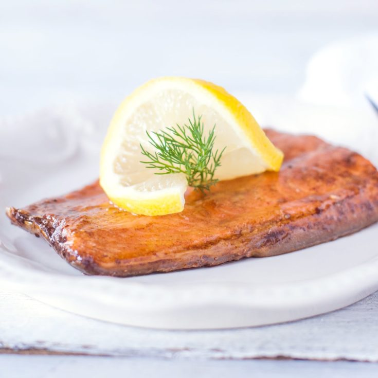 Easy Soy Sauce Baked Salmon Recipe