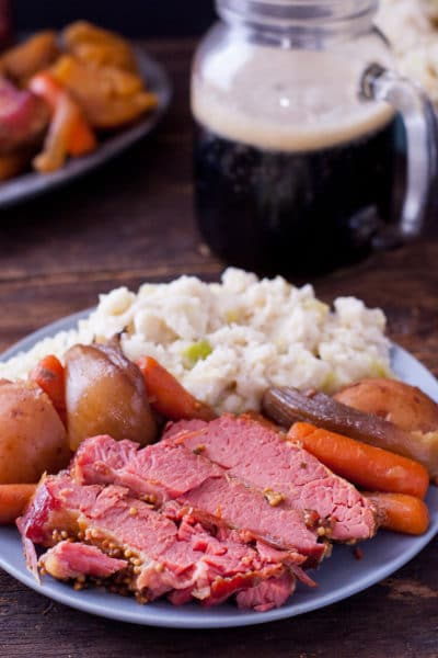 Crockpot Corned Beef Recipe for St. Patrick's Day