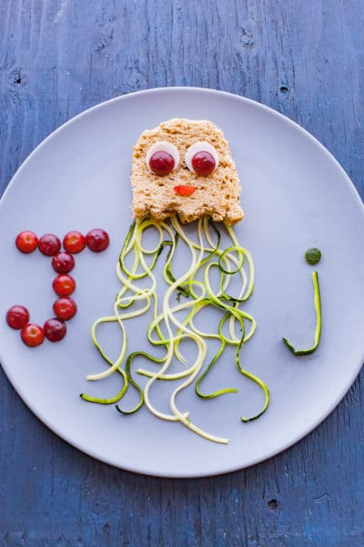 Peanut Butter and Jellyfish Sandwich Edible Alphabet