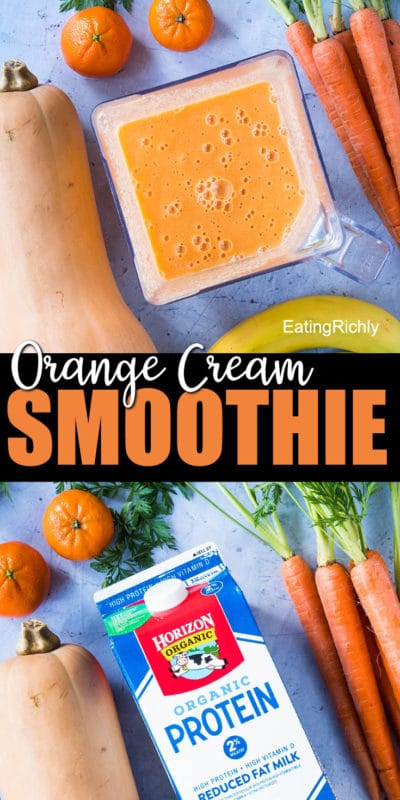 Orange Cream Smoothie