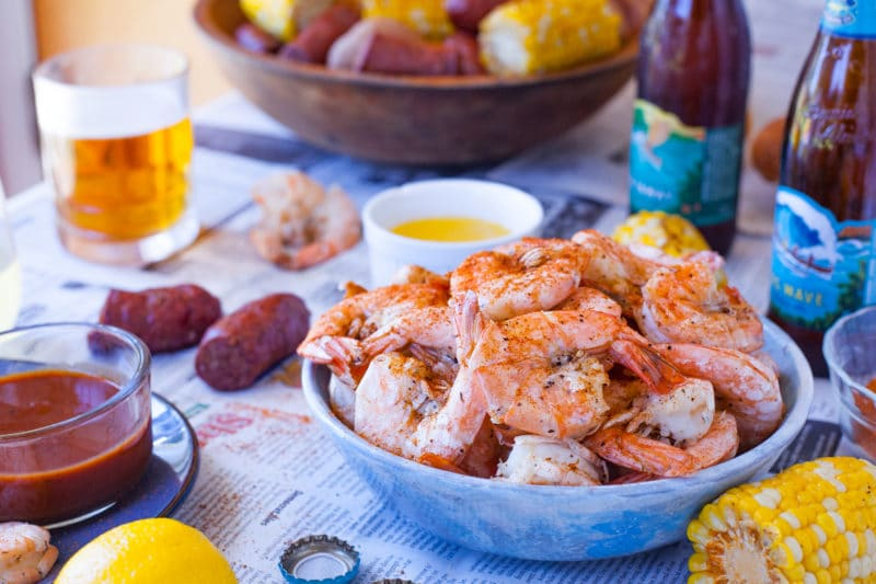Shrimp Boil Party Food