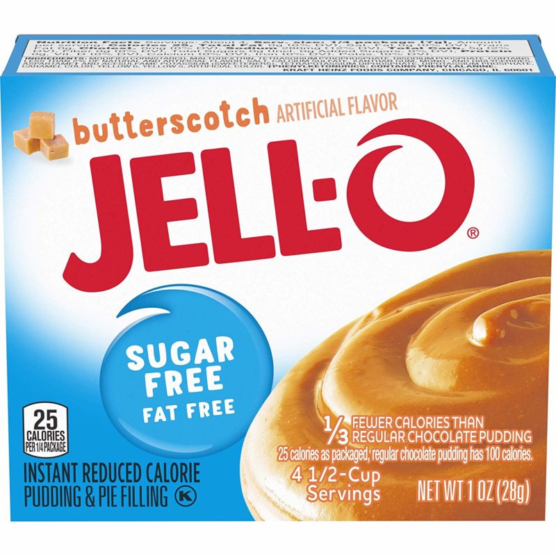 Butterscotch pudding fat free sugar free instant