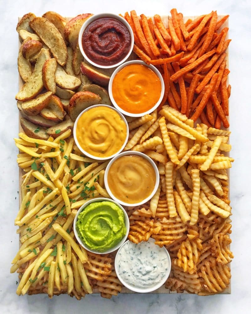 The Delicious French Fry Board