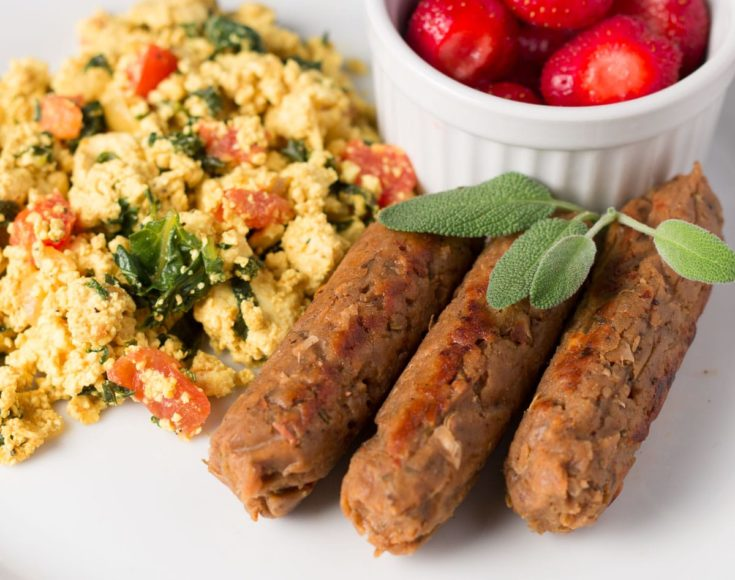Vegan Breakfast Sausage Links - Oil-free and Delicious!