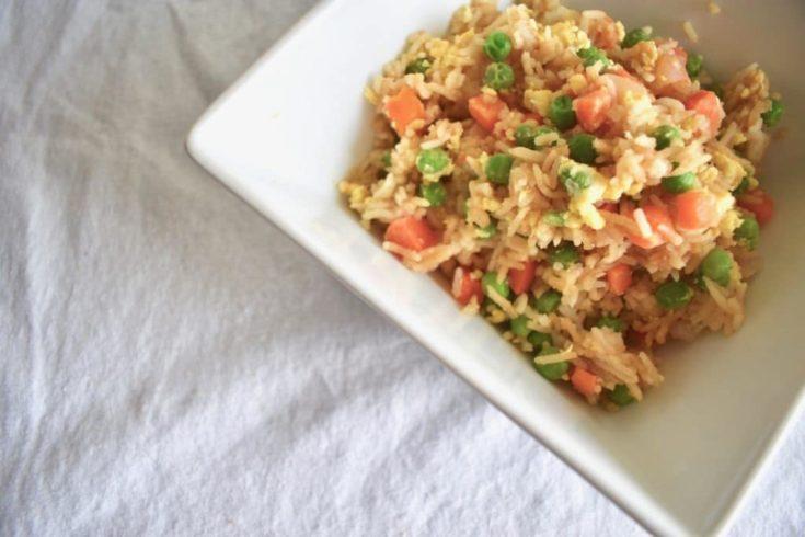 The Best Vegetarian Teriyaki Fried Rice