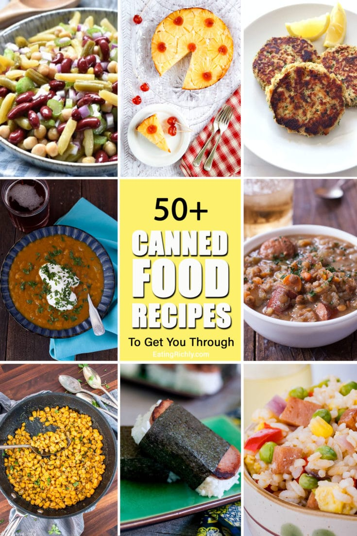 Canned Food Recipes
