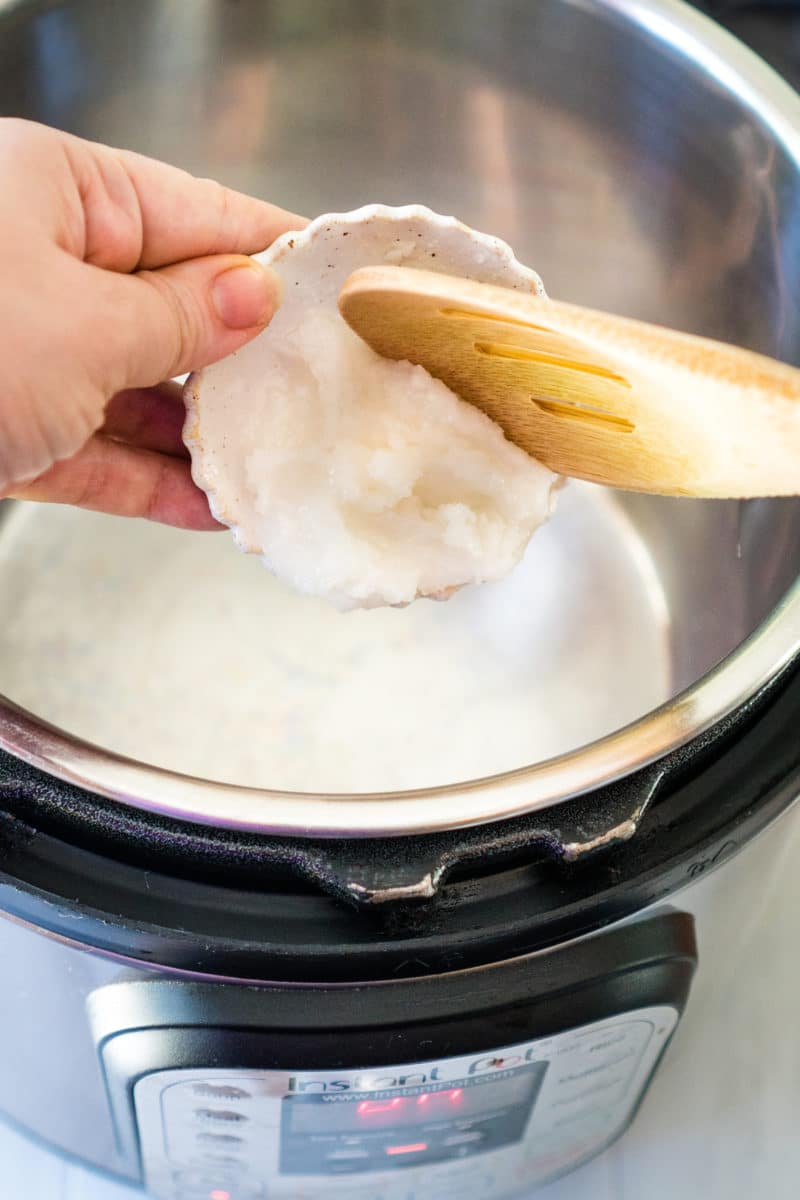 Putting Coconut Oil Into an Instant Pot