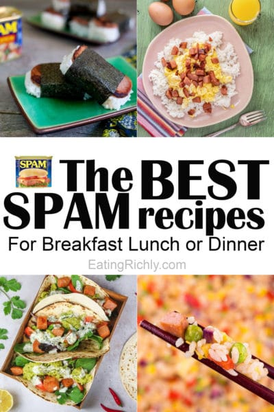 SPAM Recipes You Can't Resist