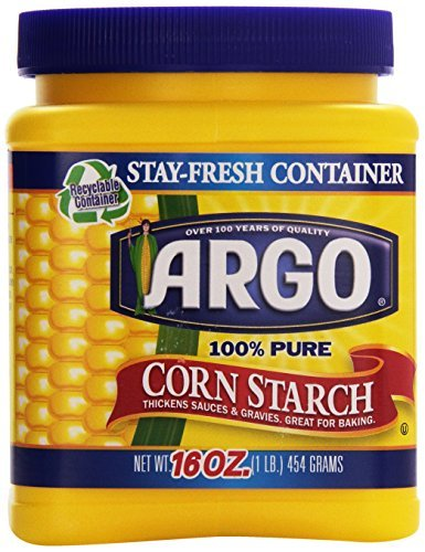 Large container of Argo Corn Starch