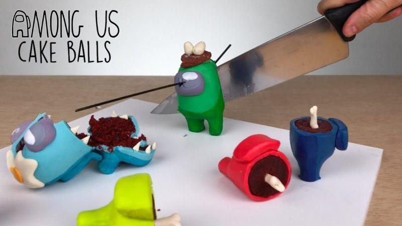 Among Us Cakeballs Sideserf Cakes Thumbnail Image